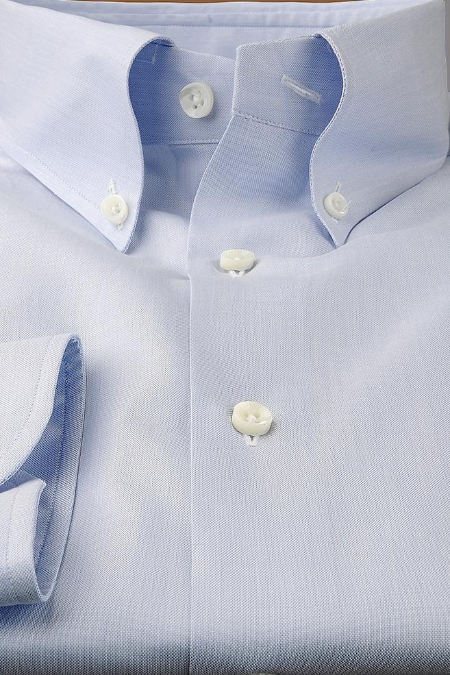 l'atteggiamento migliore 842fa f8130 Camicia Sartoriale Piccirillo tessuto Pinpoint Sictess unito celeste
